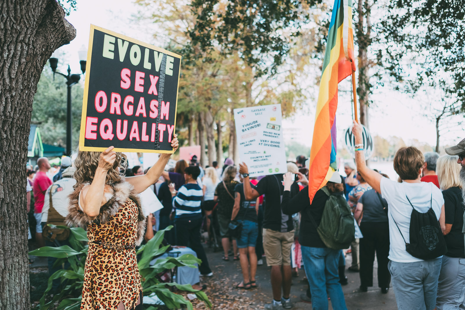 lake-eola-womens-march-inauguration-orlando
