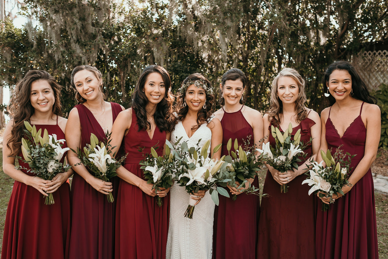 bridesmaids formal picture
