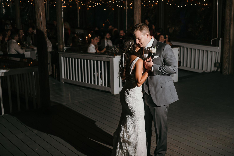 first dance contrast lighting