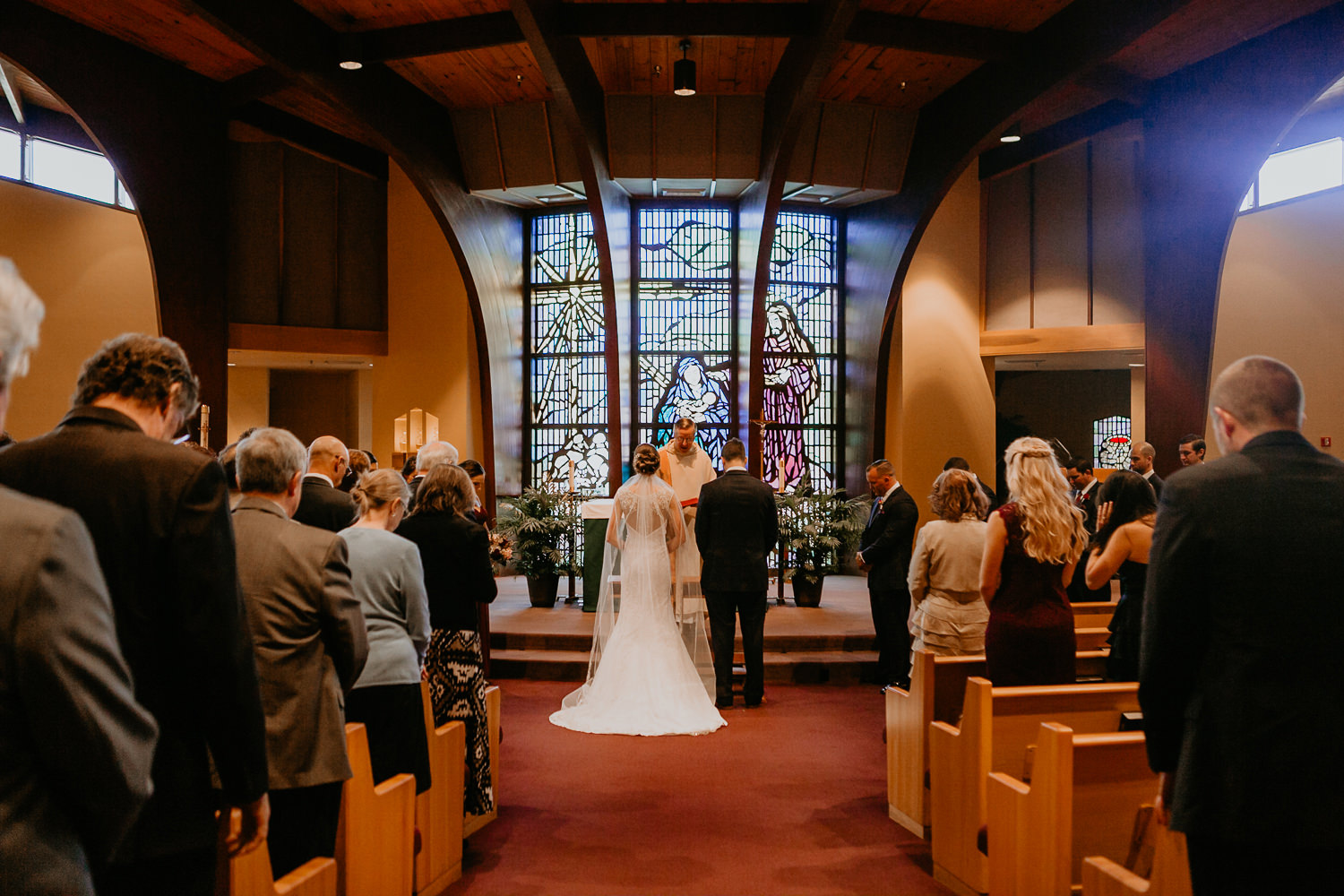 Nativity Catholic Church wedding photography